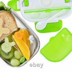 12V Portable Electric Heating Lunch Box Food Heater Bento Warmer Container