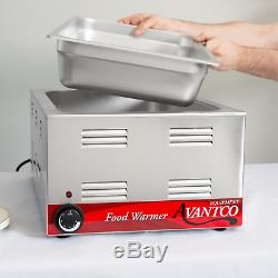 12 X 20 Commercial Electric Food Warmer Countertop Restaurant Cooking Heater