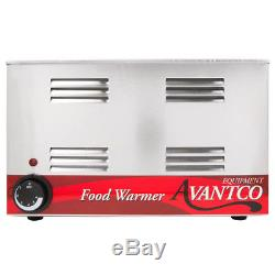 12 x 20 Full Size Electric Countertop Buffet Kitchen Food Warmer 120V, 1200W