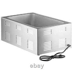 12 x 20 Full Size Electric Countertop Food Warmer Commercial Restaurant