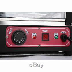 15 Commercial Food Warmer Court Heat pizza Food Display Warmer Cabinet Glass