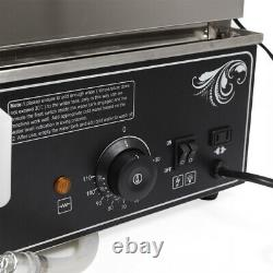 1.2KW Commerical Steamer Electric Food Display Automatic Warmer Cooker kitchen