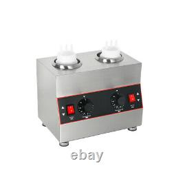 1/2/3 Burner Commercial Electric Chocolate Sauce Jam Warmer Stainless Steel CE