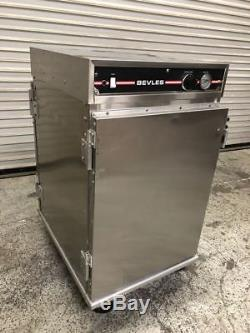 1/2 Height Full Sheet Warmer Hot Bevles Heated Holding Cabinet NSF #9197 Food
