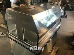 2011 Custom Deli DILW4H Stainless Steel Electric Hot Chicken Food Warmer Heated