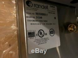 2015 Randell 31348 Electric Three Well Hot Food Warmer Table withFill Faucet NEW