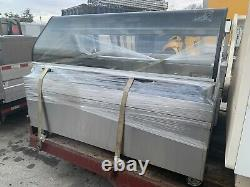 2016 Alto Shaam ED2-72 Hot Food Warmer On Stainless Stand. Works Great 208v 1ph