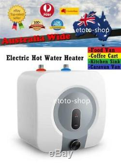 240V Electric 8L Compact Hot Water Heater for Coffee Cart Food Van Kitchen etc