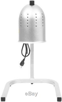 2X Aluminum Heat Lamp Food French Fry Warmer 2 Bulb Free Standing Counter Top