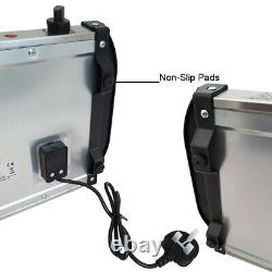 2.5l Electric Food Warmer Buffet Server Adjustable Temperature Hotplate Tray