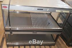 36Hatco Food Warmer GRSDS/H-36D Counter Top Heated 2 Shelf Merchandiser Glo-Ray
