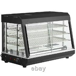 36 Countertop Self Service Heated Food Display Warmer with Doors 110V, 1500W