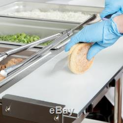 43 3 Pan Restaurant Electric Steam Table Buffet Food Warmer Commercial 120V NEW