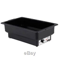 4X Electric Chafers Chafing Dishes Steam Water Pan Food Warmer Catering Buffet