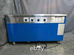 4-well Hot Food Warmer/steam Table Piper Products R4hf 60x30 208v 1ph
