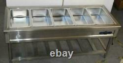 72 110V 5-Well Commercial Buffet Steam Table Long Food Warmer Device 190551