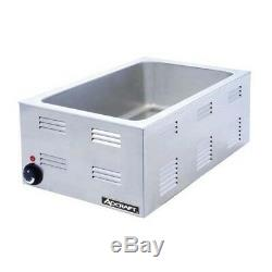 AdCraft Stainless Steel Full-Size Food Warmer FW-1200W