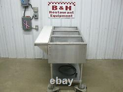 Advance Tabco Stainless 3 Three Well Electric Steam Table Food Warmer HF-3E-120