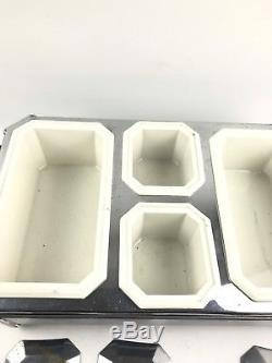 Antique Chase Electric Art Deco Food Warmer- Lot 971