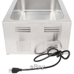 Avantco Portable 12 x 20 Electric Countertop Food Warmer Holds Full Size Pan