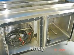 Avtec Hot & Cold Food Buffet Serving Line Warming Table Food Warmer salad