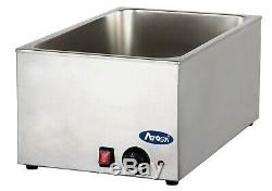 Brand new 1/1 size Wet heat Bain Marie Electric Soup Sauce Food warmer holder