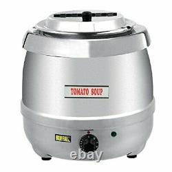 Buffalo Stainless Steel Soup Kettle 10L Commercial Electric Jug 360X345mm