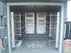 Cambro CMBH1826L Insulated Electric Hot Holding Cabinet Mobile Food Warmer Cart