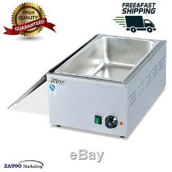 Commercial 1200W Electric Bain Marie Food Warmer Machine For Hotel & Restaurant