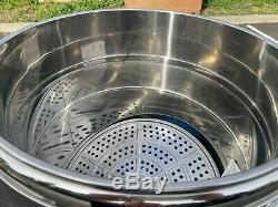 Commercial 80 Quart countertop food warmer steamer Cooker electric