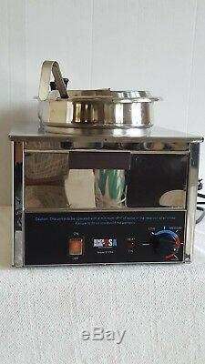 Commercial Double 7 QT Soup Food Warmer Station by Benchmark