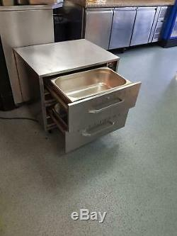 Commercial Electric Drawer Warmer Commercial Food, Peri Peri, Chicken, Buns