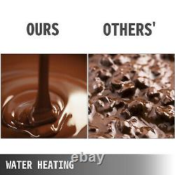 Commercial Food Warmer Chocolate Melting Warmer Temperer Electric Melter Machine