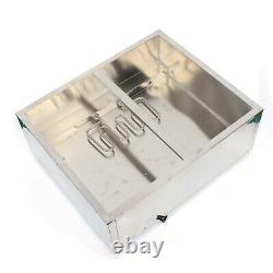 Commercial Food Warmer Steam Table Buffet Countertop 4 Pots Heater Station 600W
