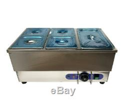 Commercial&Household General Purpose Food Warmer with 5 Pots, 22.613.811
