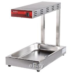 Commercial Infrared French Fry Food Warmer Fryer Dump Station Heat Lamp Electric