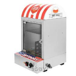 Commercial Stainless Electric Hot Dog Steamer Cooker Bun Food Warmer Machine
