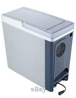 Compact 18Qt Thermo Food Cooler Car 12V Electric Beverage Travel Storage Warmer