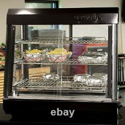Countertop 48 110V 1500W Heated Self Service Food Display Warmer with Doors
