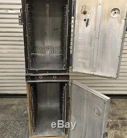 Double Stack Warming Heated Holding Cabinet CresCor H139-12133 #7663 Food Warmer