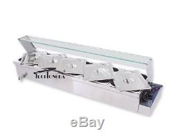 Easy to Use 6 Deep Pans Food Warmer for Commercial Buffet etc. Multifunction New