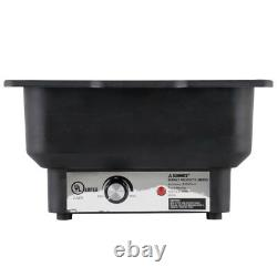 Electric Chafer Chafing Dish Steam Water Pan Warmer Food Serving Catering Buffet