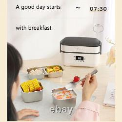 Electric Lunch Box Heating Insulation Warmer Food Heater Container Portable +