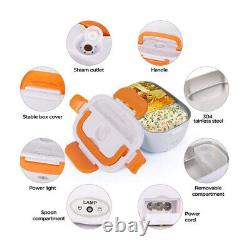 Electric Lunch Box for Car and Home Portable Food Warmer Heater