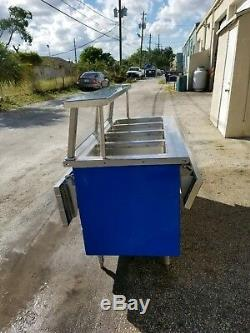 Electric steam table, food warmer 4 pans