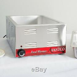 FULL SIZE 12 x 20 Electric Countertop Food Pan Warmer Commercial Chafing Dish