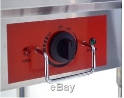Food Warmer Bain Marie Steam Table Steamer Commercial Electric Wet Heat 3Pan NSF