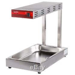 Food Warmer Fryer French Fry Dump Station Heat Lamp Infrared Commercial Kitchen