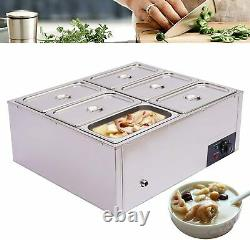 Food Warmers Commercial Electric Steam Table Catering and Restaurants 110V