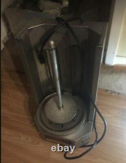 Fryer electric + food warmer + stove electric + grill + gyro machine